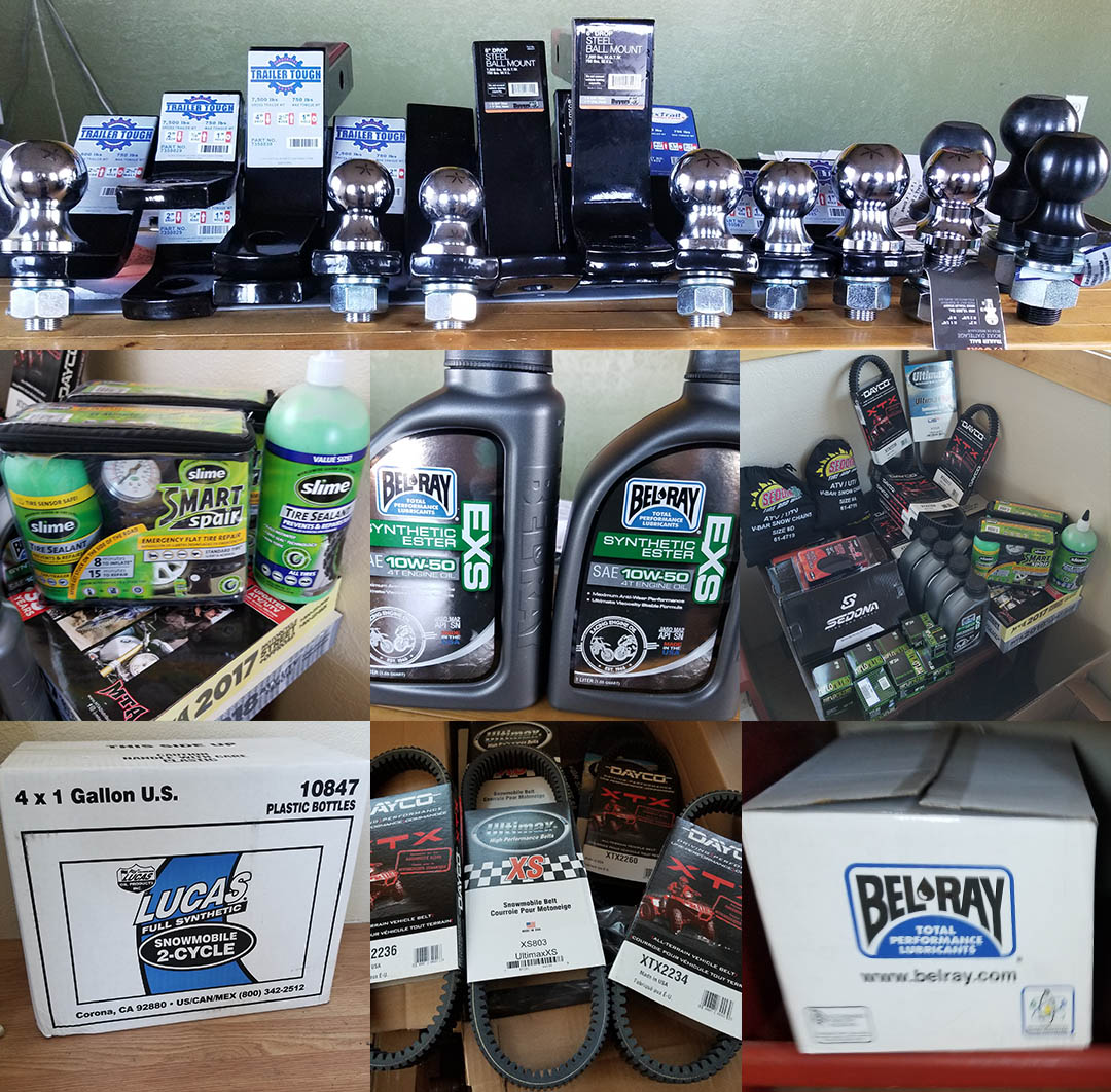 ARS is expanding and now has ATV, UTV and Snowmobile products in stock.