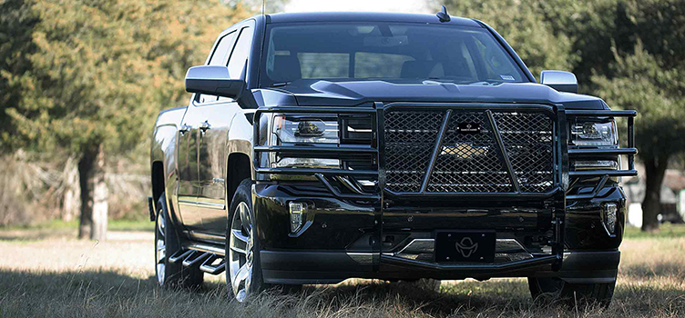 Ranch Hand Grill Guards, Front and Rear Bumpers and Running Steps now available through Avenue Rental and Sales