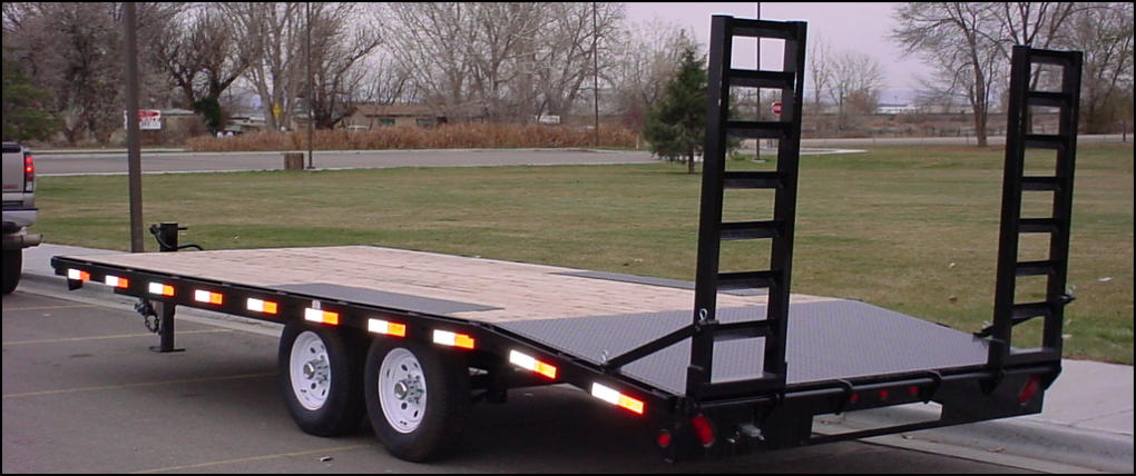 C&B Deck-over Equipment Trailer