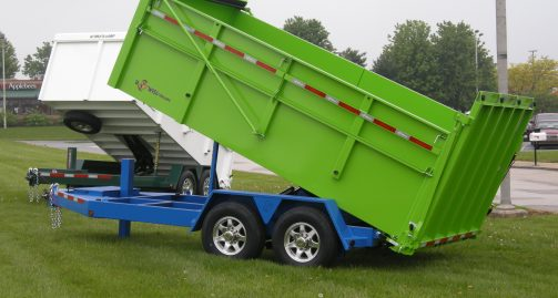 BWISE Ultimate Dump Trailer 4' Sides
