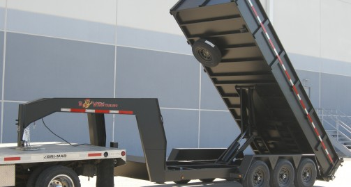BWISE GN Ultimate Dump Trailer