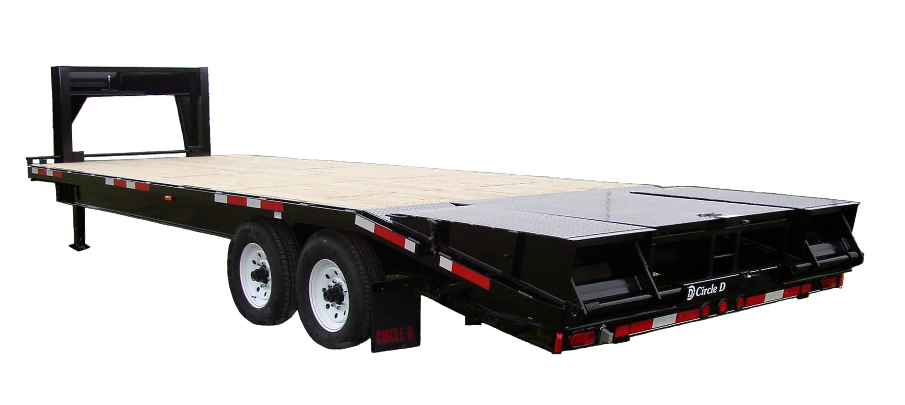 Circle D GN Flatbed Trailer